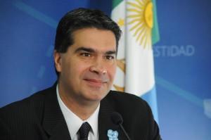 Capitanich, Jorge jefe del Gabinete de Ministros