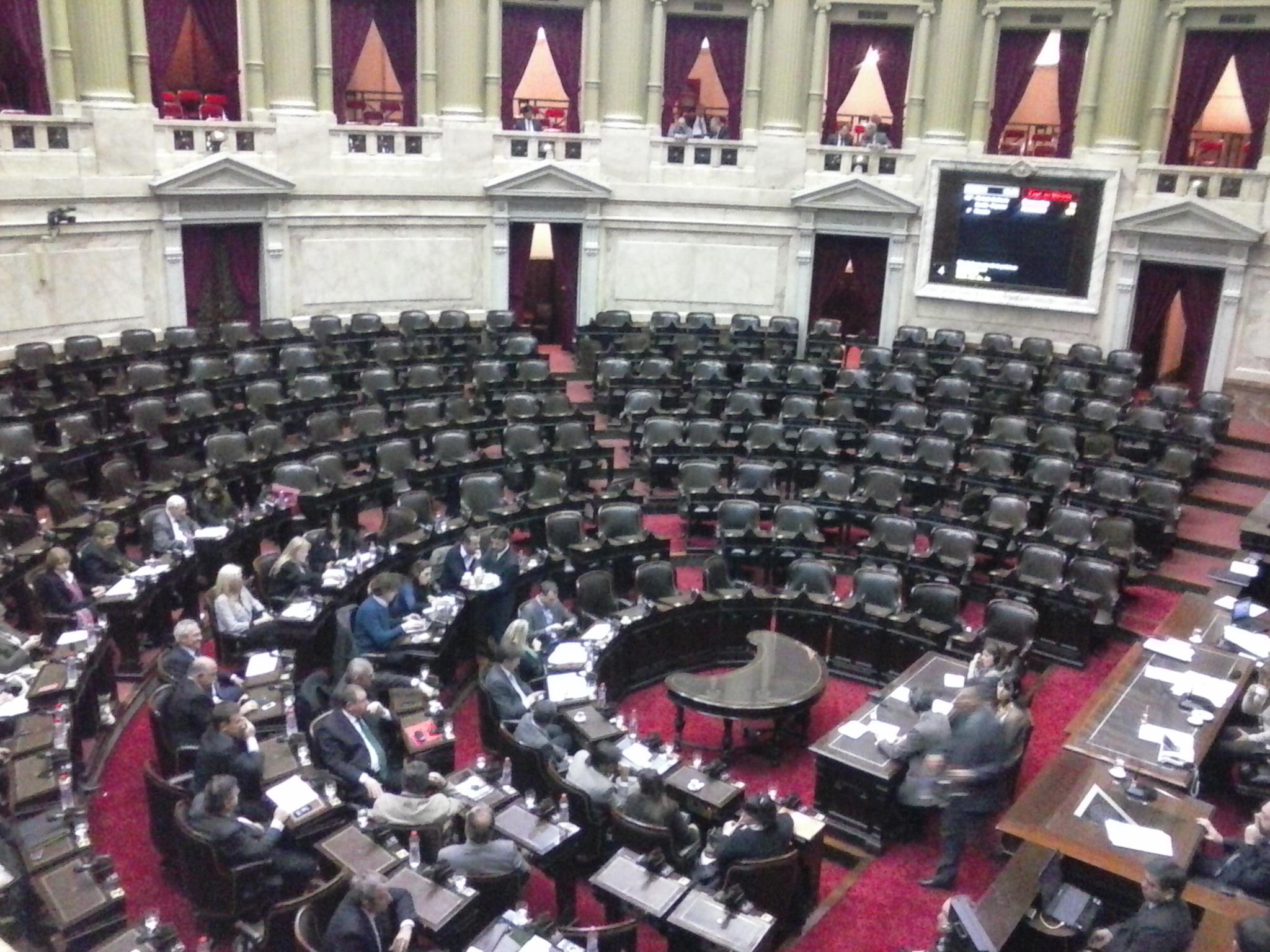 Legisladores de la oposición le reclamaron a Dominguez que la agenda se aboque solo en la transición