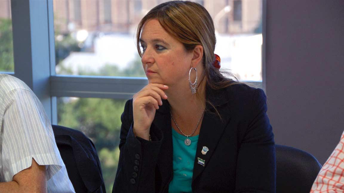 Odarda, Magdalena senador nacional (UNEN - Río Negro)