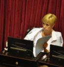Senadora del FpV considera que la partida destinada a Educación en el Presupuesto es insuficiente
