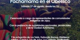 Pachamama en el Obelisco