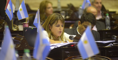 Gaillard, Carolina diputada nacional (FPV - Entre Ríos) HCDN