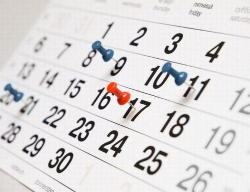 El Poder Ejecutivo definió los feriados de 2018
