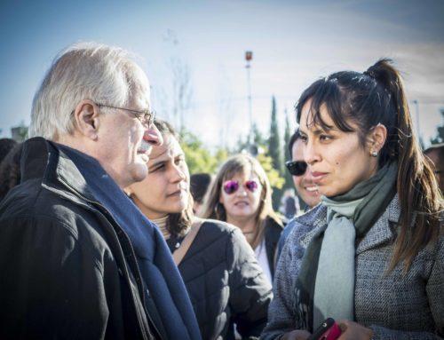 """Taiana: """"Tenemos que defender los derechos de los trabajadores con la movilización en la calle"""""""