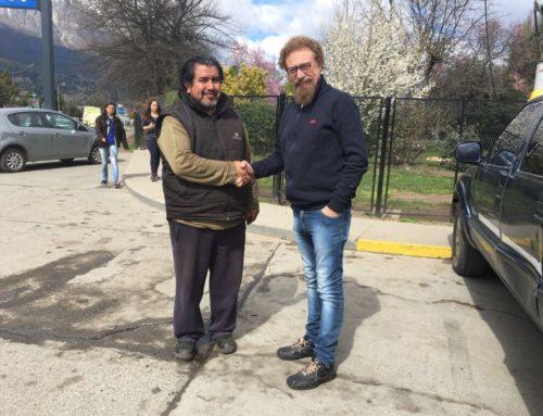 Luenzo se reunió con referentes mapuches