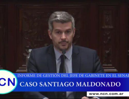 Peña sobre Maldonado: «Tenemos la preocupación de encontrarlo con vida»
