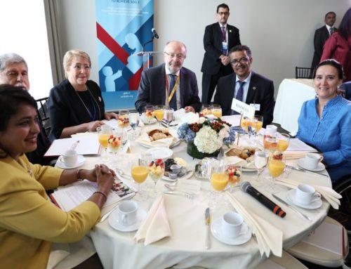 Michetti expuso ante la ONU y participó de diferentes reuniones