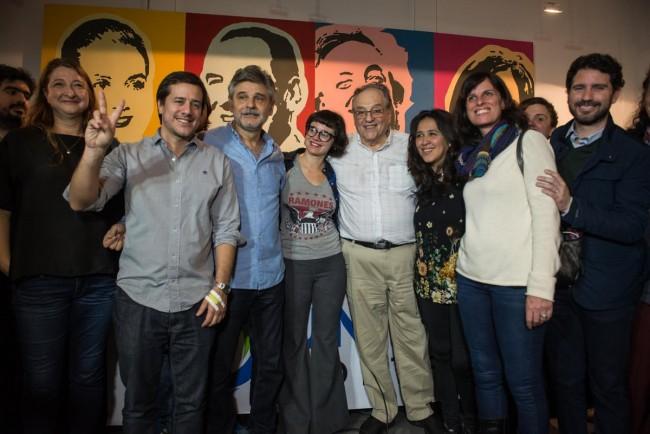 """Candidatos de Unidad Porteña """"lucharán contra el ajuste"""""""