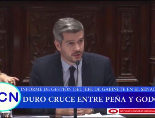 Duro cruce entre Marcos Peña y Ruperto Godoy