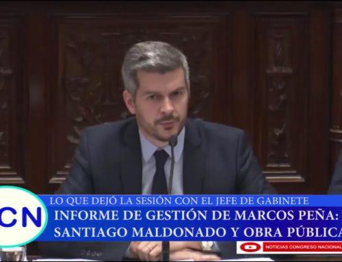 Informe NCN TV – La visita de Marcos Peña al Senado