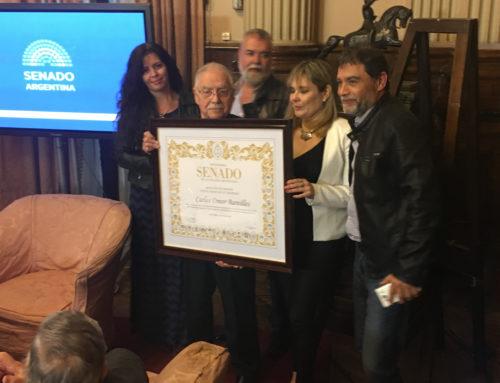 Mención de Honor Perito Francisco P. Moreno al conductor radial Carlos Omar Bareilles