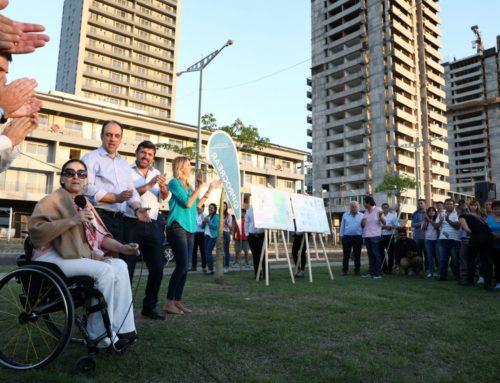 Michetti anunció la apertura de inscripción de las primeras 181 viviendas de ProCreAr