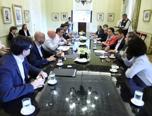Michetti reunió a los ministerios para coordinar políticas sobre discapacidad