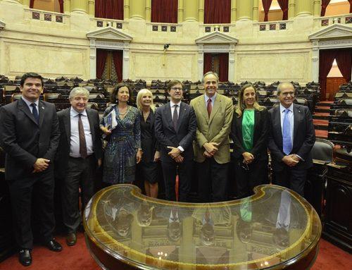 Visita del alcalde de Florencia al Congreso