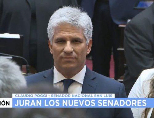 Claudio Poggi: «Alguien que fue presidente debería dejar su lugar en la banca a otros candidatos».