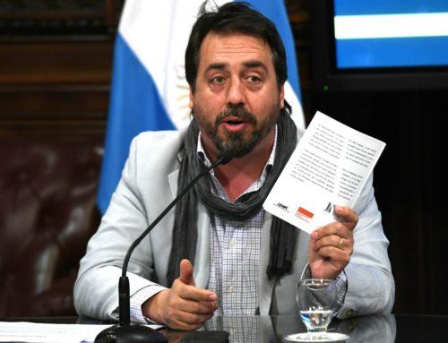 """Enrique Viale: """"Hay que ponerle un traductor a Sergio Bergman cuando habla"""""""