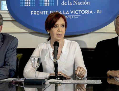 """CFK: """"Es una causa inventada, sobre hechos que no existieron"""""""