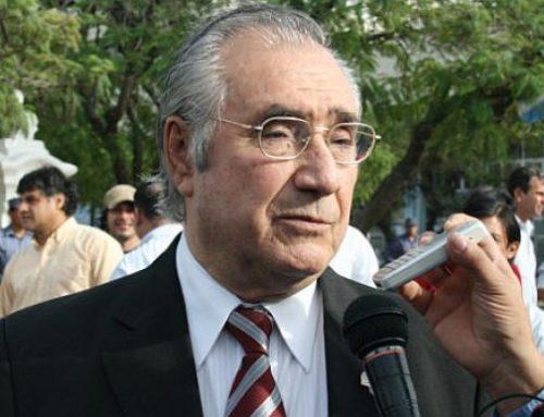 Murió el vicegobernador de Formosa Floro Bogado