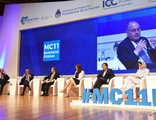 """Faurie en OMC: """"Aspiramos a ser el supermercado del mundo"""""""