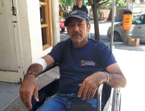 Raúl Godoy denunciará a la Policía por la represión y lesiones sufridas durante el desalojo en MAM