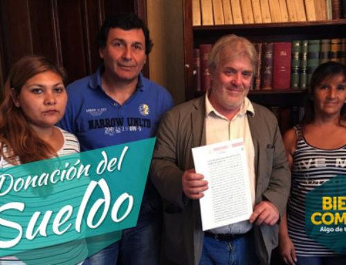 Gustavo Vera: Última donación como legislador