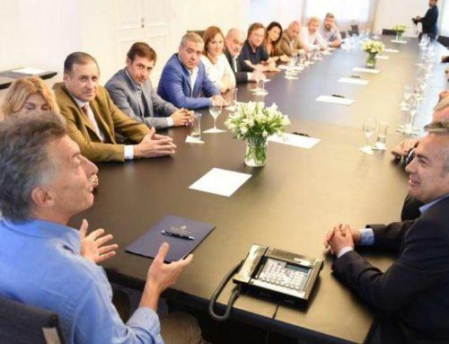 Macri recibió en Olivos a la UCR