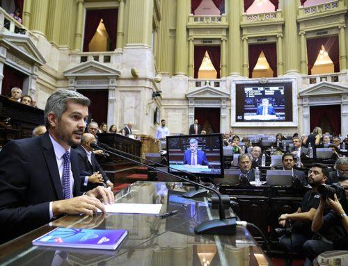 Marcos Peña vuelve al Congreso luego del anuncio del acuerdo con el FMI