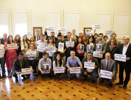 Diputados del FPV-PJ se reunieron con familiares de Zannini y D´Elia
