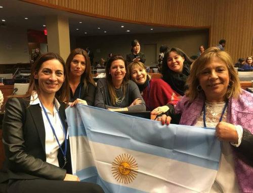 Diputadas presentes en la Sesión de la Comisión de la Condición Jurídica y Social de la Mujer de Naciones Unidas (CSW)