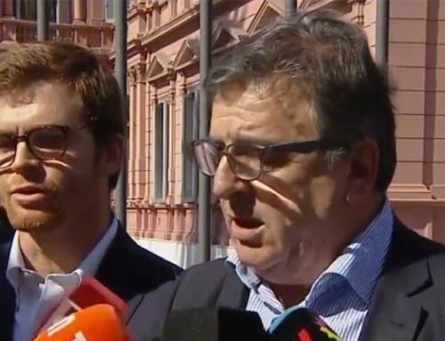 Negri y Massot explicaron los aumentos de las tarifas a la salida de Casa Rosada