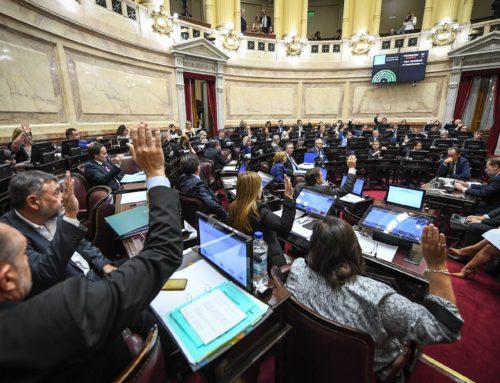 """La Cámara alta convirtió en ley el """"Compre Argentino"""""""