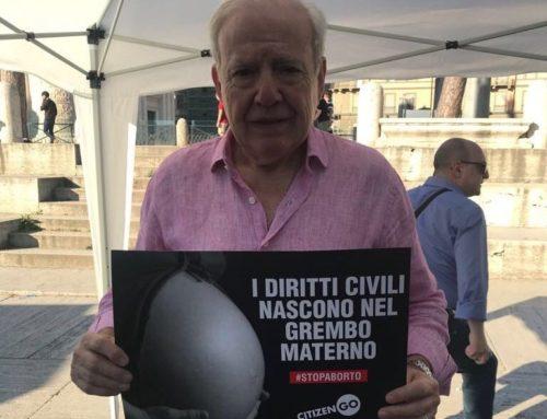 Diputado de Cambiemos se adhirió a la marcha en contra del Aborto desde Roma
