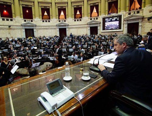 """Diputados debate """"Ley Micaela"""" contra la violencia de género"""