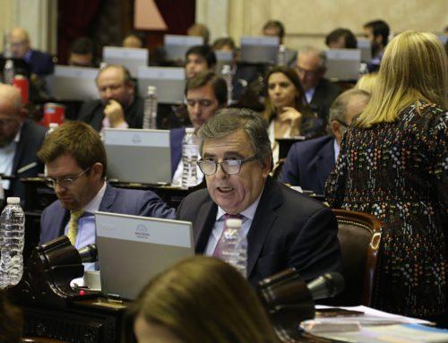 A dos años de la media sanción, Negri le volvió a pedir al Senado la ley de Extinción de Dominio
