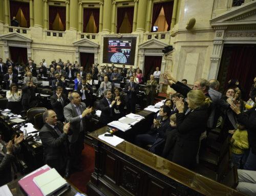 Diputados aprobó la Ley Justina y la Ley Brisa