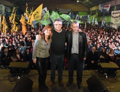 """Agustín Rossi: """"Tenemos que recuperar la industrialización y la movilidad social ascendente frente al ajuste y al desempleo"""""""