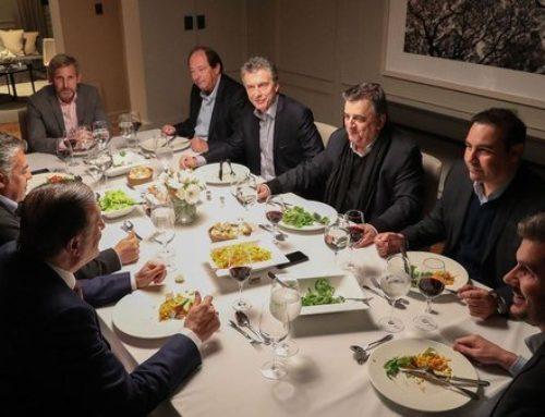 Cena de Macri con la cupula radical en Olivos