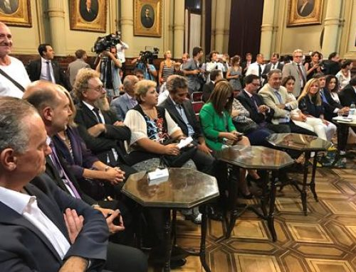 Luenzo acompañó el reclamo de las Regionales Patagónicas de la CGT ante la conducción nacional