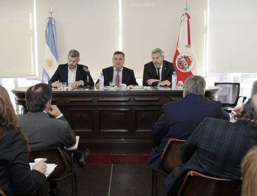 El bloque radical recibió a Peña y a Frigerio para expresar inquietudes sobre el Presupuesto