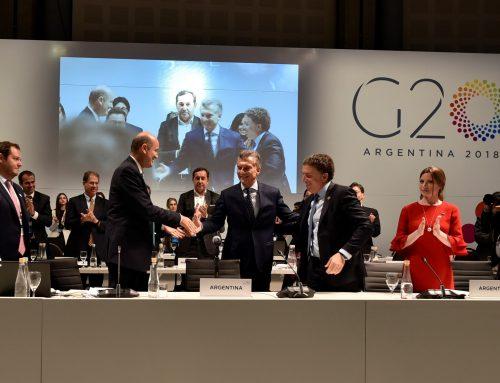 Funcionamiento de los servicios durante la realización del G20