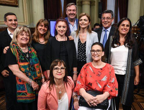 Michetti anunció que cuatro mujeres fueron elegidas por concurso para las secretarías de comisiones