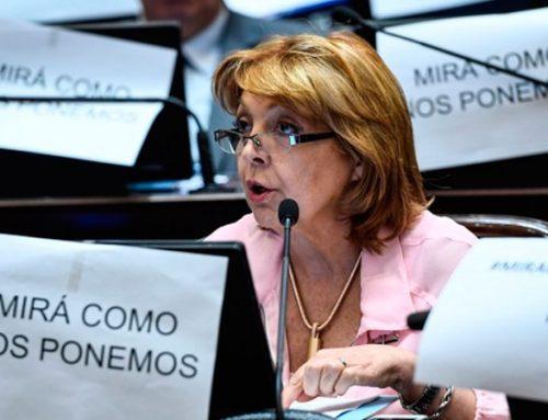 Repudio a la violencia de género en sesión del Senado
