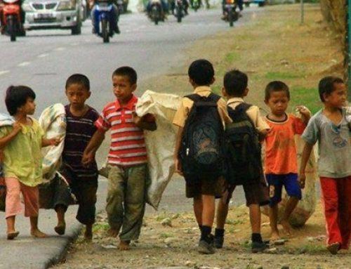 El problema de la niñez es la pobreza