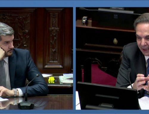 Pichetto se reunió con Peña para analizar ley de financiamiento político