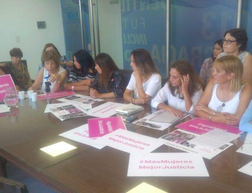 Diputadas radicales piden más mujeres en la justicia