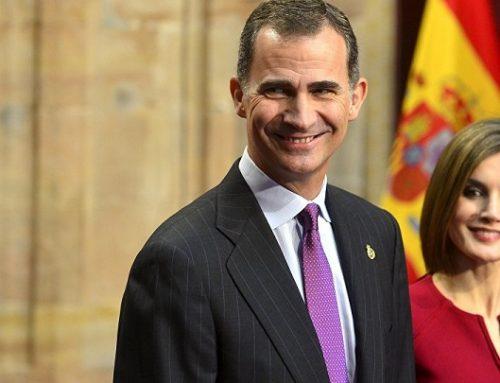 El Congreso recibe a los reyes de España Felipe VI y Letizia