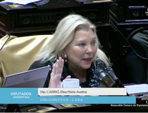 Diputados realiza la primera sesión del año con temas consensuados, pero Alfonsín y Carrió roban el protagonismo