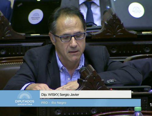 """Diputado Sergio Wisky aseguró que las medidas económicas son """"lo que la gente está necesitando"""""""