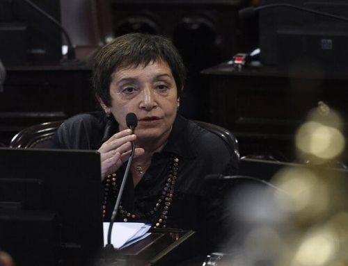 Senadora Beatriz Mirkin en defensa de la Jubilación de las amas de casa