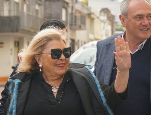 Carrió pidió que voten a Benedetti porque «Bordet es Cristina Fernández de Kirchner»